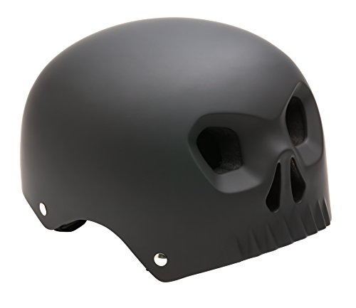 Mongoose MG77927-2 Boys Street Youth Skull Hardshell, Black by Mongoose