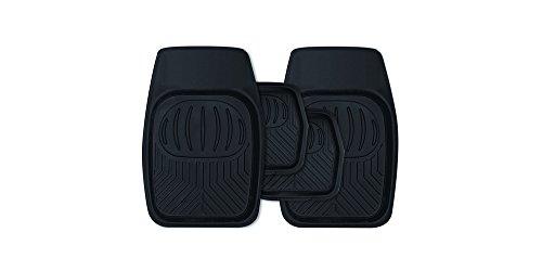 hummer-h2-4x4-black-rubber-heavy-duty-deep-tray-floor-mud-mats-new