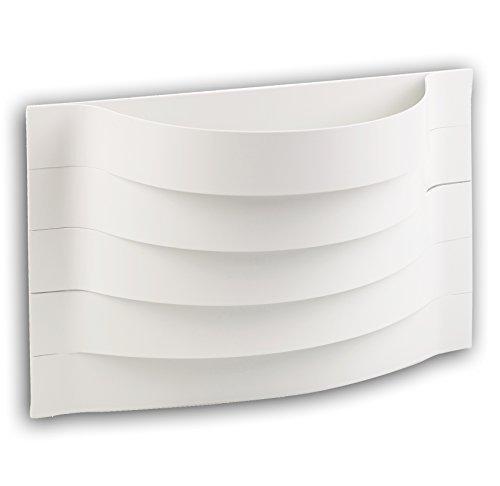 Weiß Kontur gebogene Wandmontage für drinnen Lampe Beleuchtung Deckenfluter