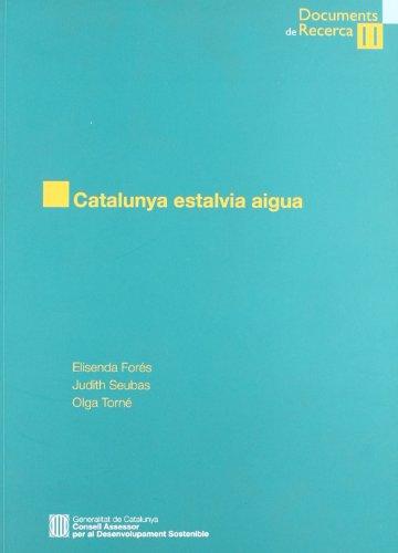 Catalunya estalvia aigua (Documents de recerca)