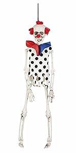 Boland 72112Decoración Esqueleto Payaso, 40cm