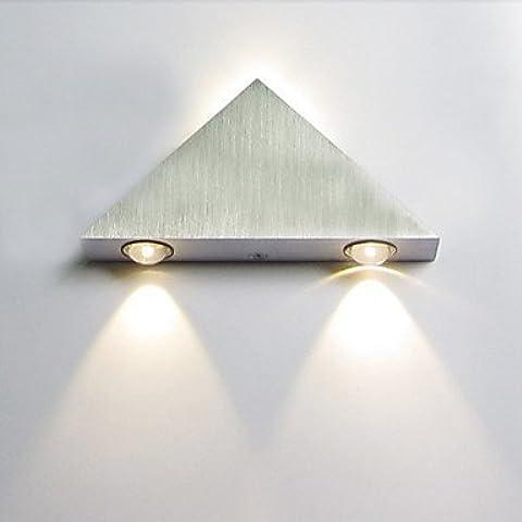 ASNSWDC® Triangolo 3W Progettato in alluminio da parete a