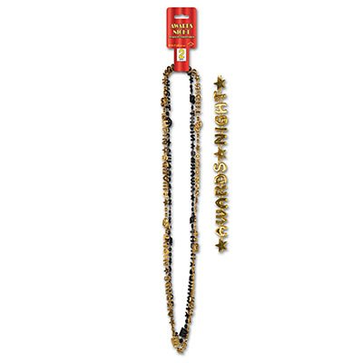 Beistle 54650 2er Pack Awards Night Beads-of-Expression