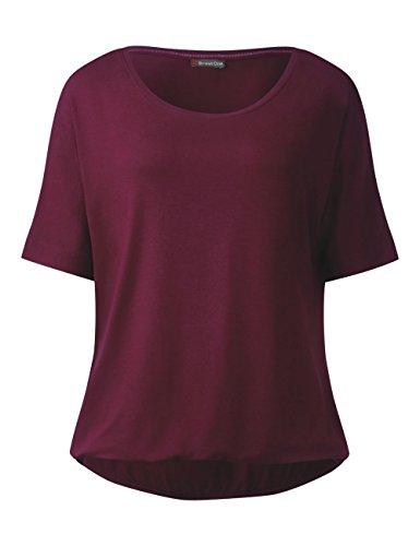 Street One Damen T-Shirt 311384 Gunja Violett (Master Wine 11018) ...
