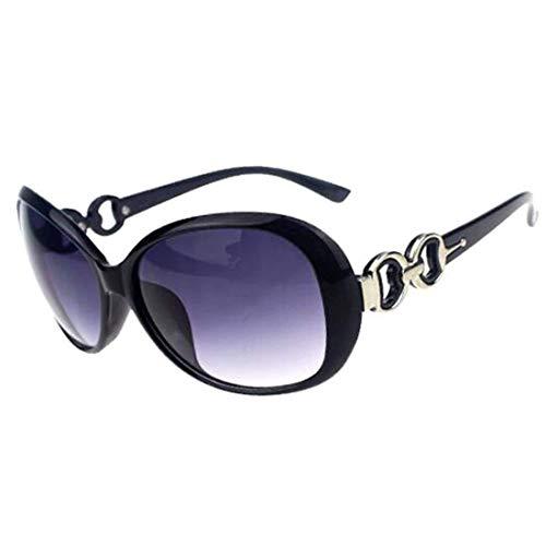 Lcxligang Polarisierte Sonnenbrille für Frauen, UV400 Objektiv-Sonnenbrille für weibliche Damen Fashionwear Pop polarisierte Sonnenbrille