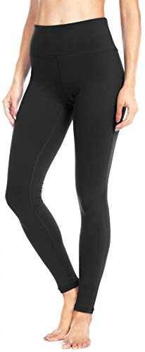 QUEENIEKE Damen Power Flex Yoga Hosen Training Laufende Leggings Farbe Schwarze Größe S (Keeper Negative)