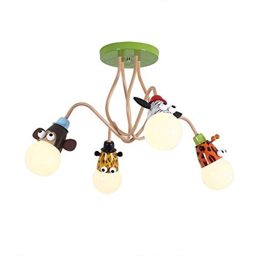 TZZ De techo moderna Luz Animal Nursery lámpara de techo del accesorio de iluminación E27 for el dormitorio, Comedor, habitación de los niños, Cocina