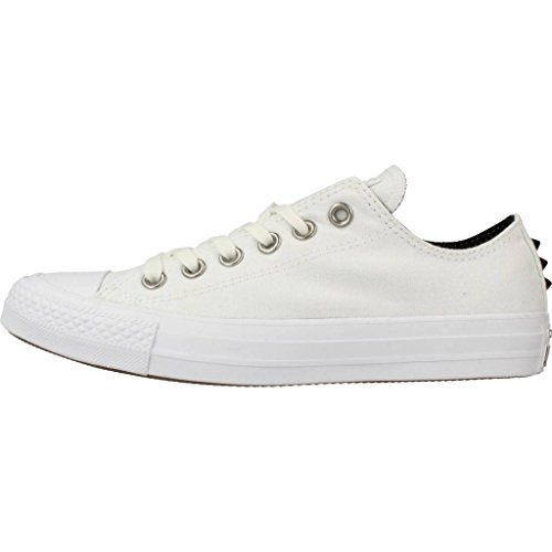 Converse Femme Chaussures / Baskets Chuck Taylor All Star Ox White