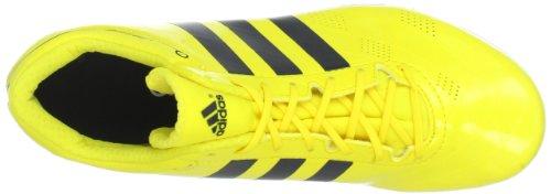 adidas Performance adizero HJ FL Q34080 Herren Clogs & Pantoletten Gelb (Vivid Yellow S13 / Black 1 / Black 1)