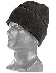 Tac-Shield TGTCSH T28BK Militar Fleece Cap de Negro