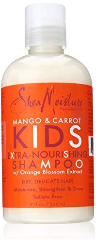 Shea Moisture Kids Mango & Carrot Shampoo 8oz (Moisture Shampoo Free Sulfate)