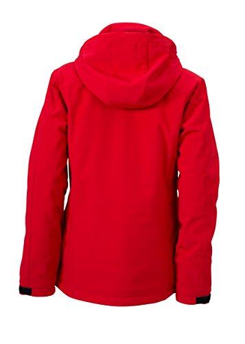 James & Nicholson Damen Wintersport Jacket Jacke Rot (Red)