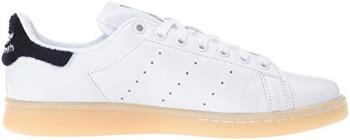 Adidas Womens Stan Smith Leather Trainers White/White/Collegiate Navy