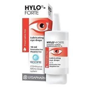 Hylo Forte Gouttes pour les yeux 10 ml