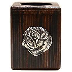 Doguillo, Candelabro de madera con el perro, de edición limitada, ArtDog