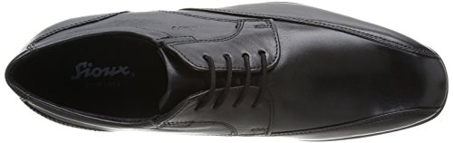 Sioux Abidan, Chaussures de ville homme Noir (Schwarz)
