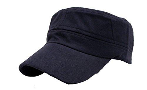 HENG SONG Uomo/Donna Militare Baseball Sport Cappello Cappelli Del Sole (Blu marino)
