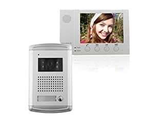 ZDL-226+ZDL-6380W Wired Night Visual Color Video Door Phone with 8.3inch TFT LCD Monitor (White) + Worldwide free shiping