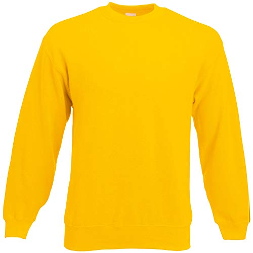 Fruit of the Loom Classic Set-In Sweat - Farbe: Sunflower - Größe: XL