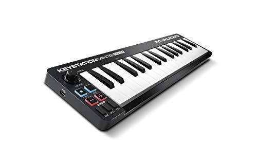 M-Audio Keystation Mini 32 MK3 - Clavier Maître Mini - USB/MIDI Ultra-Portable avec 32 Mini-Touches...
