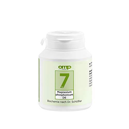 Schüssler Salz Nr. 7 Magnesium phosphoricum D6   400 Tabletten   Das Salz der Muskeln und Nerven   glutenfrei