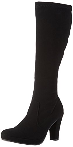 Andrea Conti 1124170, Bottes Classiques Hautes femme Noir (Schwarz 002)