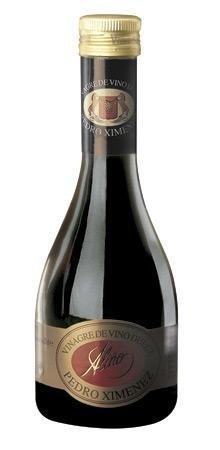Vinagre de Vino Dulce Pedro Ximénez Gourmet - 250 ml - Vinagre de España de Alta Calidad, Envejecido en Barrica de Roble - Gran Variedad de Ricos Sabores y Aromas Intensos - Una Tradición de 50 Años.