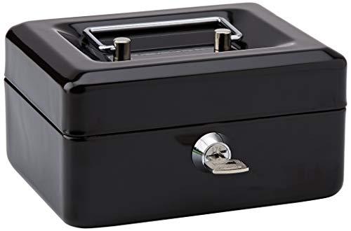 Rapesco SB0006B1 - Caja fuerte portátil con portamonedas interior, de 15 cm...