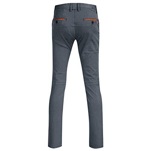 Herren Chino Hose - Modell Slim fit - Chinohose Casual mit Stretch Stretch Jogger Sporthose Slim-Fit Freizeithose Designer Hose