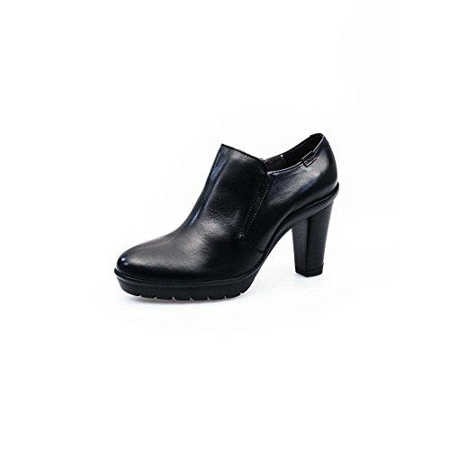 Callaghan scarpe donna tronchetti alla caviglia in pelle nero tacco alto grosso N° 40 - art. 95022