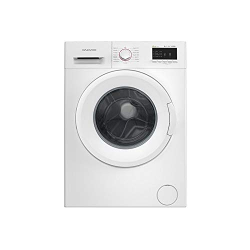 Daewoo DWD-MV10B1 Independiente Carga frontal 6kg 1000RPM A++ Blanco - Lavadora (Independiente, Carga frontal, Blanco, Botones, Giratorio, Izquierda, LED)