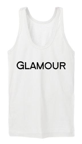 Glamour Tanktop Girls Blanco-XL