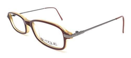 Vogue Damen Brillengestell Marrone E Giallo 48