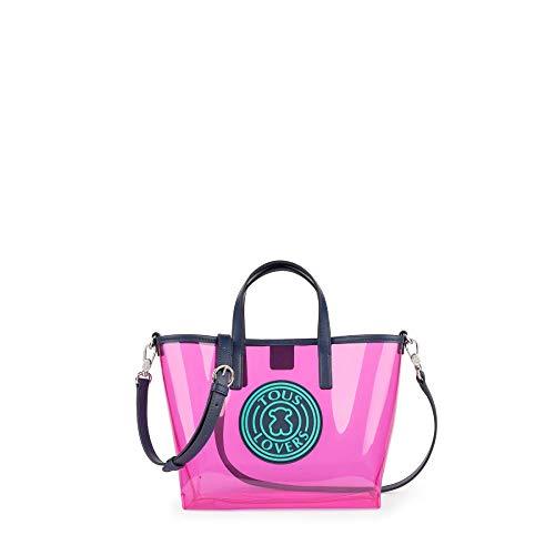 Tous T Gum, Bolso de Mano para Mujer, (Rosa 995900724), 24x20x11 cm...