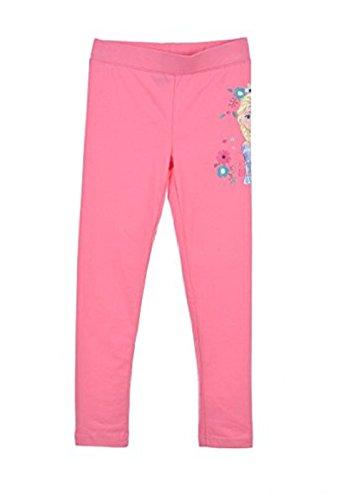 Disney frozen la regina dei ghiacci leggings ragazza rosa 4 anni