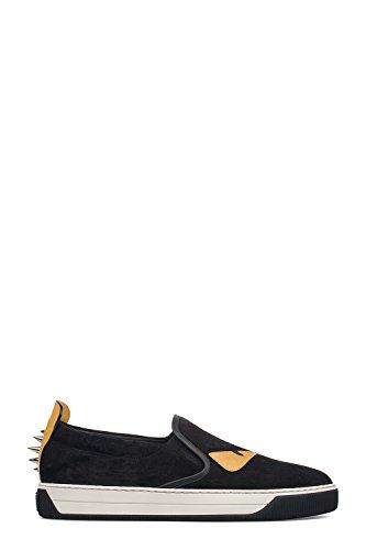 fendi-hombre-7e09042vbf0y2v-amarillo-negro-cuero-zapatillas-slip-on