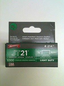 Fermeture Flèche JT21T276mm 1/10,2cm Boîte de 1000agrafes # 214