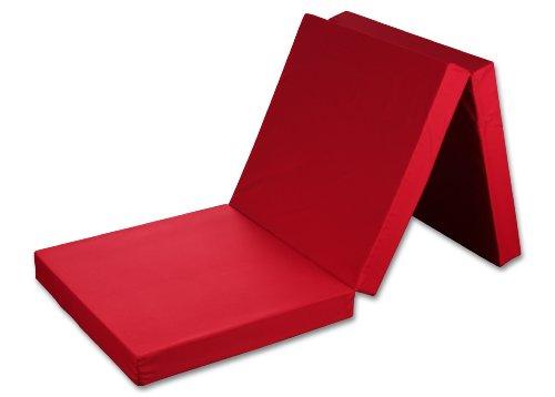 Badenia-Materasso-pieghevole-in-schiuma-colore-rosso-65-x-198-x-85-cm