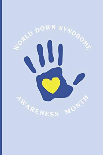 World Down Syndrome Awareness Month: Blank Dot Lined Journal to Express Your Support and Love. Pastel Coloured Covers on Composition Book To Sketch and Write In, 6 by 9 inches (5)