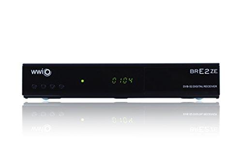 WWIO BrE2ze Linux Satelliten Receiver (HD-TV, DVB-S2, Enigma2, PVR-Ready, LAN, HDMI, 2x USB 2.0)