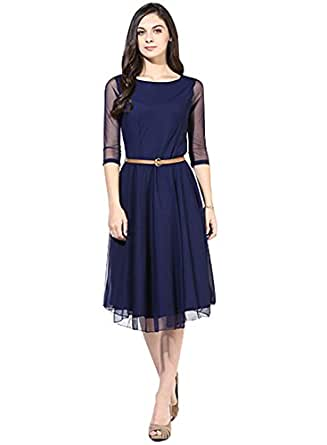 Rangrasiya Women's Fancy Net Western Kurti