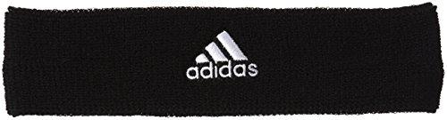 adidas Tennis Headband Schweißstirnband, Black/White, - Adidas Schweißband Tennis