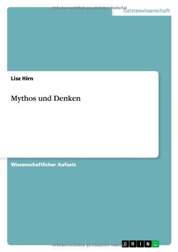 Mythos und Denken