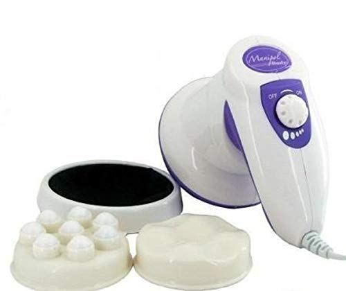 Maharsh enterprise Powerful Whole Body Manipol Massager to Reduce Weight and Fat (White)