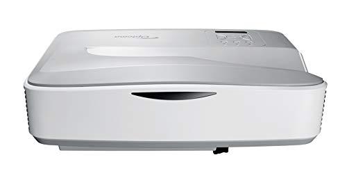Optoma HZ40UST Laser Ultra Kurzdistanz Projektor (Full HD, 4000 Lumen, 2.000.000:1 Kontrast, 3D) - 1080p Laser-projektor