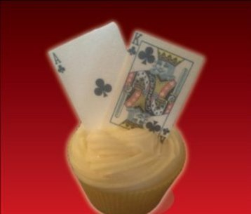 PLAYING CARDS Full Deck   Jokers Edible Cake Toppers by Baking Bling