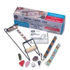 Loom Pack (Impex Indian Bead / Beading Loom With Starter Pack of Beads, Thread, Needles & Instructions by Impex)