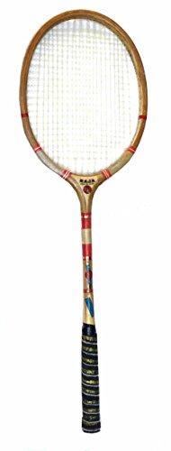 Protoner Wsg Ball Badminton wooden Racket raja with Strings