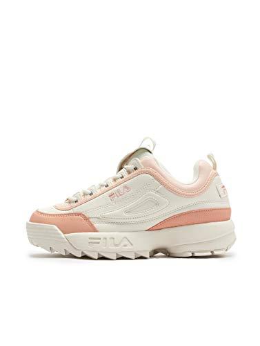 Fila DISTRUPTOR 02W White/Salmon Sneakers