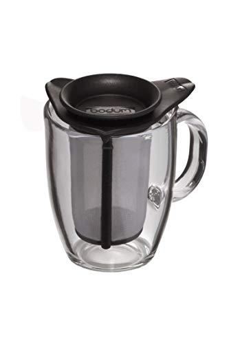 /Caffettiera/ 1L Bodum/ /Caffettiera a pistone tazze Bianco Vetro